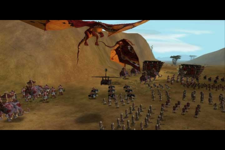 SAGA is a persistent world MMORTS game.